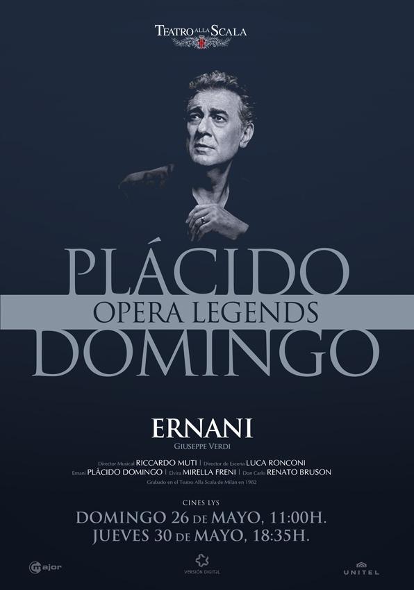 """Resultado de imagen de """"Ernani"""". Plácido Domingo."""